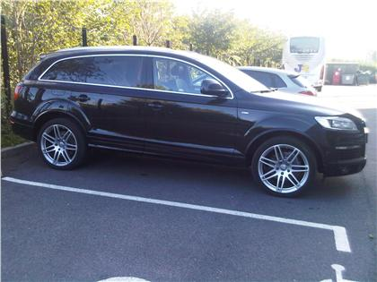 lhd audi s line 7 seater