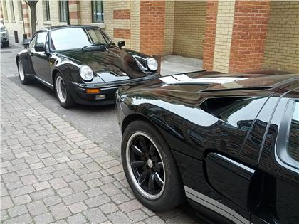 Porsche 930 Turbo and Ford GT