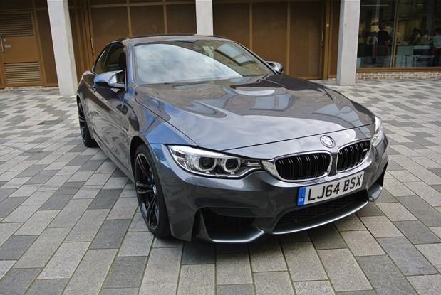 BMW 2015 MODEL M4 CABRIO 6 SPEED MANUAL