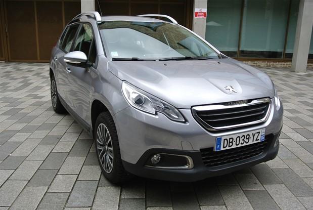 Peugeot - 2014 2008 1.2 petrol manual.