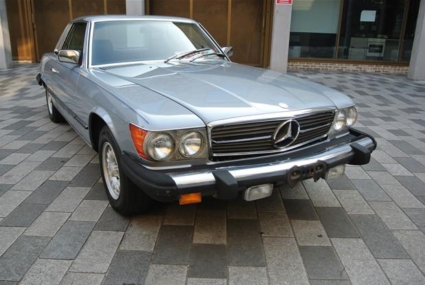 Mercedes Benz - 1981 380SLC AUTO AIR CONDITIONING
