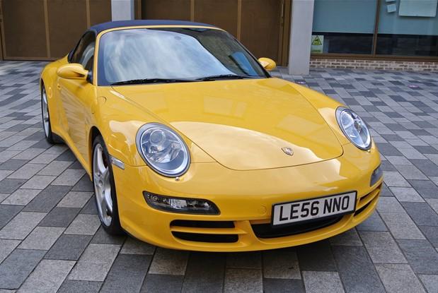 Porsche - 2007 997 CARRERA 4S TIPTRONIC CABRIO
