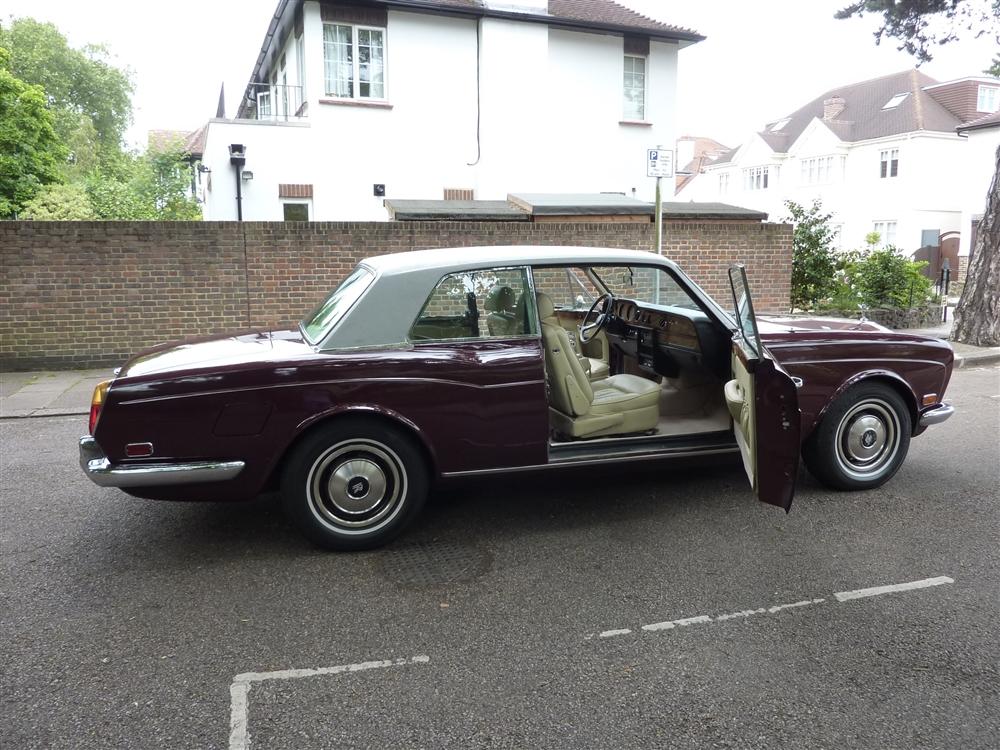 Left Hand Drive Rolls Royce Corniche FHC coupe 1976 LHD ...